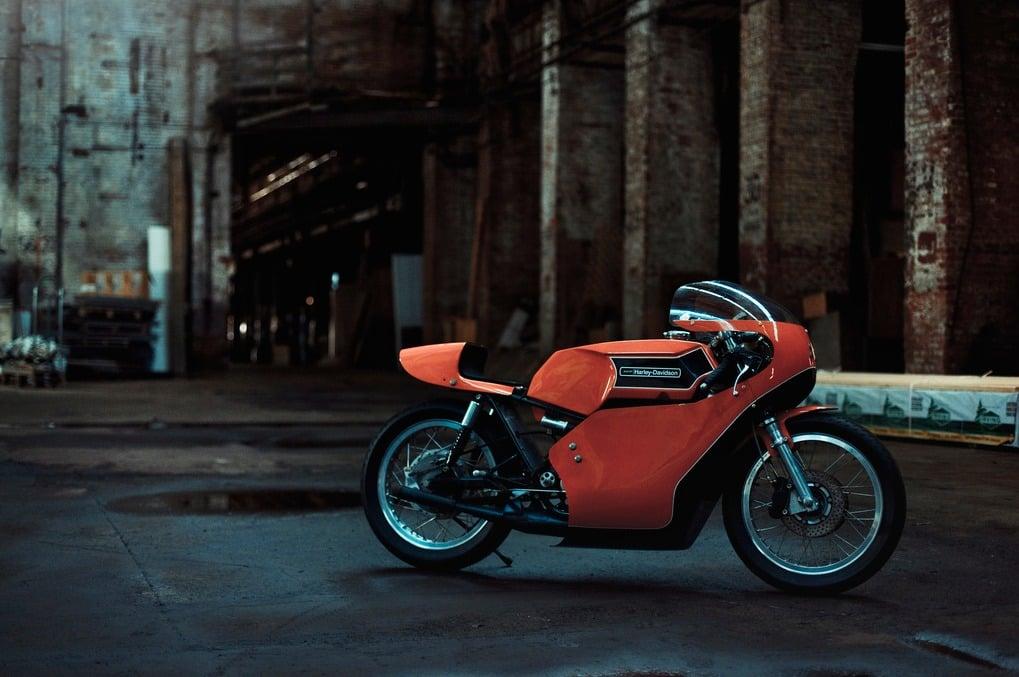 1974 Harley Davidson RR350