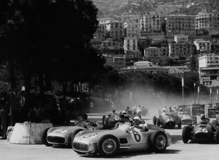 Juan Manuel Fangio 1955 Monaco Grand Prix
