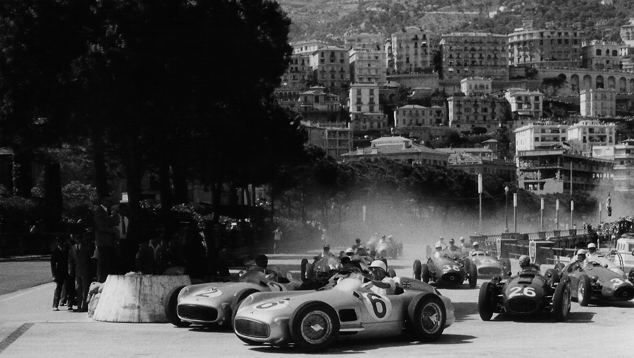 1955 monaco grand prix silodrome for Garage mercedes monaco