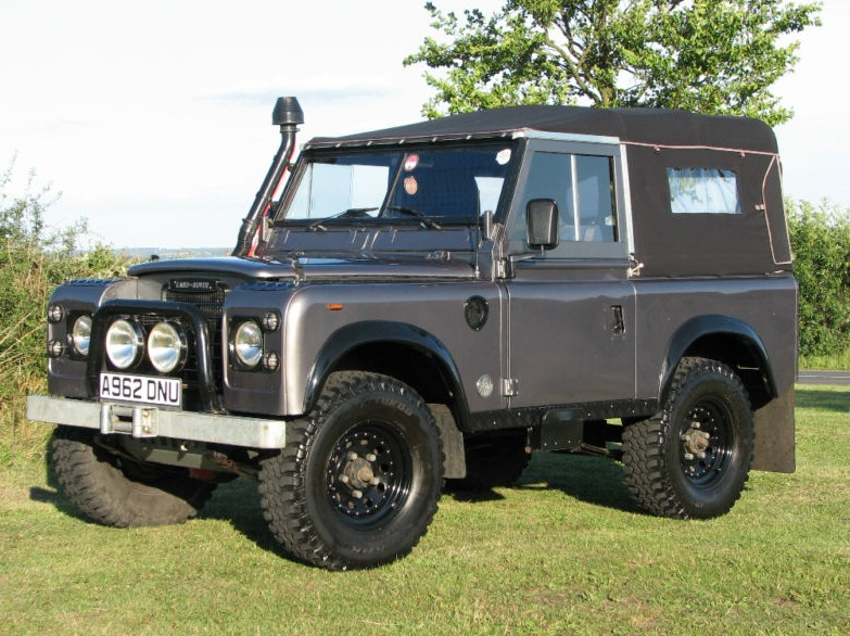 Land Rover Defender  Paint Colours Location