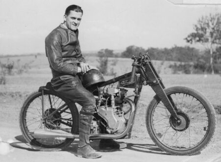 Tommy Jemison and the 100mph Velocette Record