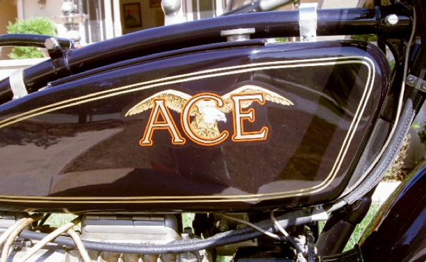 1926 Ace 1000cc in line four cylinder tank