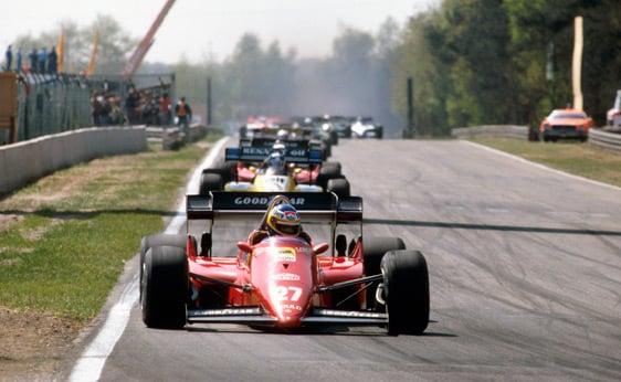1984 Ferrari 126 C4 Formula 1 2
