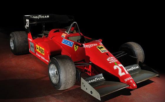 1984 Ferrari 126 C4 Formula 1 3