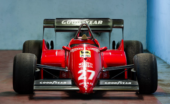 1984 Ferrari 126 C4 Formula 1 5