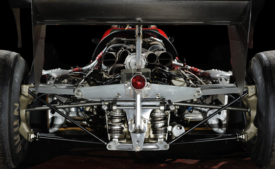 1984 Ferrari 126 C4 Formula 1 6