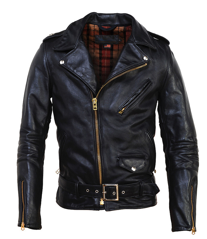 Horsehide Perfecto Motorcycle Jacket by Schott NYC Horsehide Perfecto Motorcycle Jacket by Schott NYC