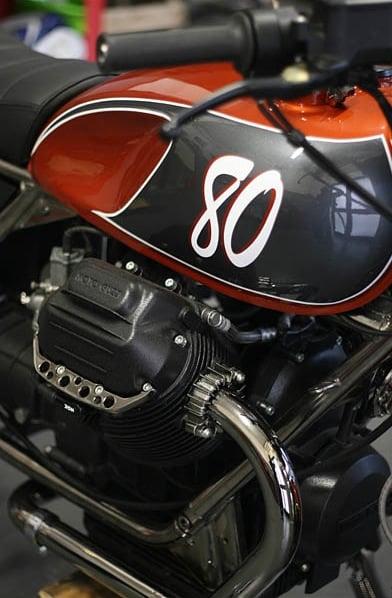 Officine Rossopuro Moto Guzzi Ottanta 3