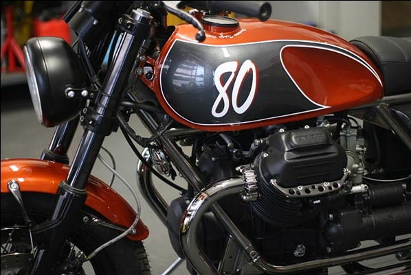 Officine Rossopuro Moto Guzzi Ottanta 4 Officine Rossopuro Ottanta