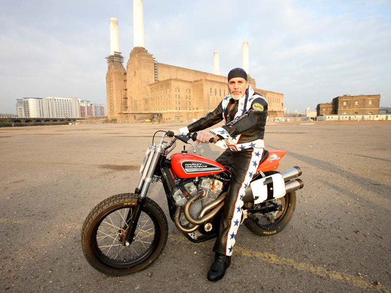 Famous Evel Knievel Bike At Auction: Robbie Knievel's Harley XR-750