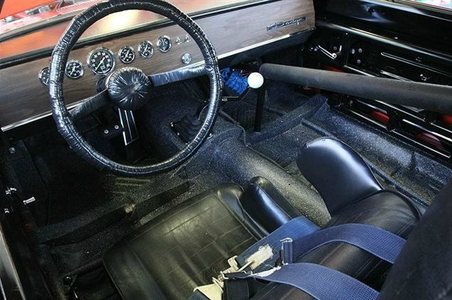 1969 dodge charger daytona silodrome for Karting interieur