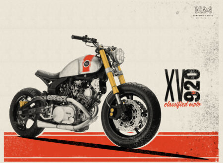 XV920 Debut Print by Classified Moto