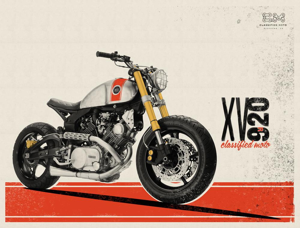 XV920 Debut Print by Classified Moto