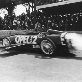opel 290x290 - Fritz Von Opel and his Rocket Car