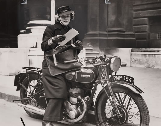 Motorcycle Mail