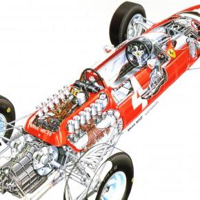 1964 Ferrari 158 Formula 1 Car 290x290 - 1964 Ferrari 158