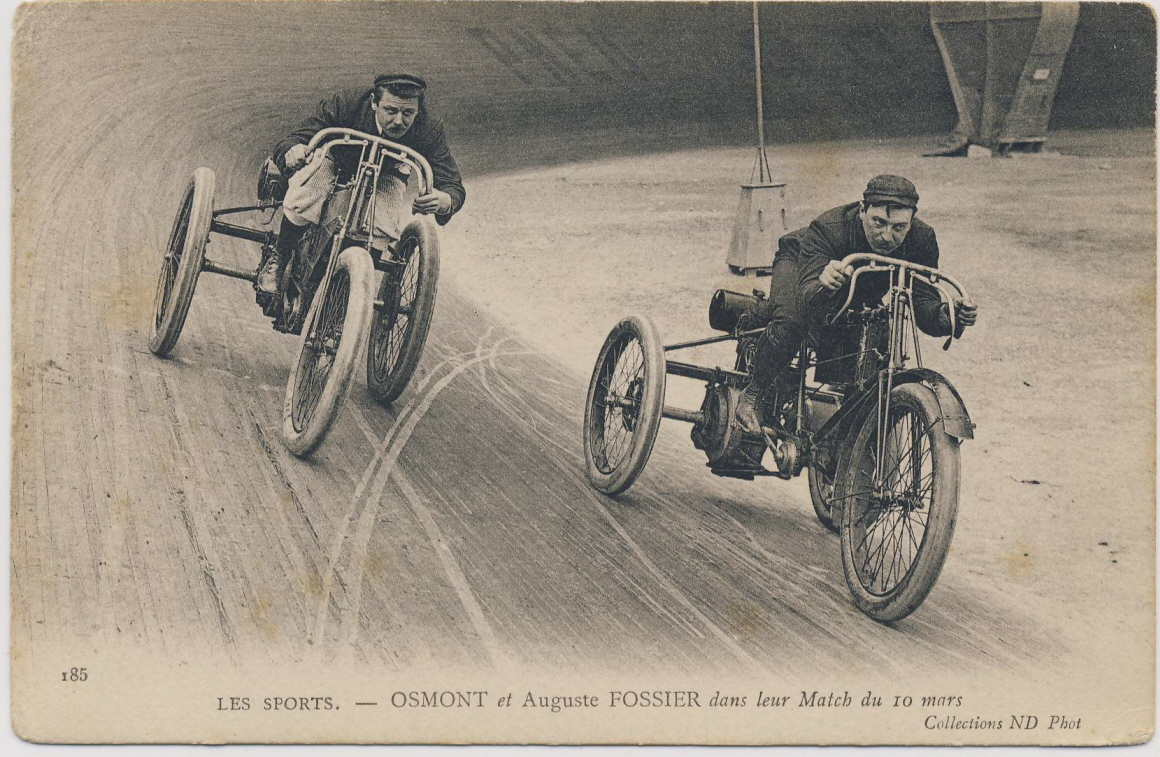 Board Track Tricycles