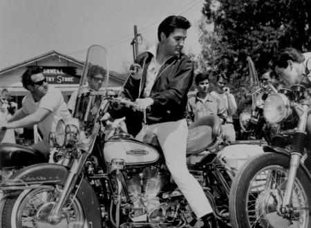 Elvis Motorcycle 450x330 - Elvis in the Saddle