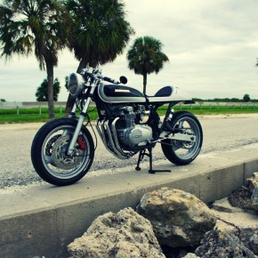 CB550-FZR600 Hybrid By Steel Bent Customs