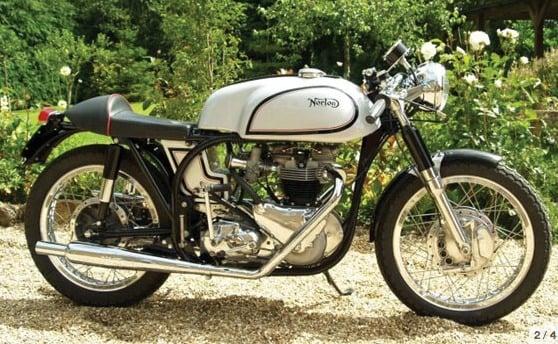 Triton Café Racer Motorcycle