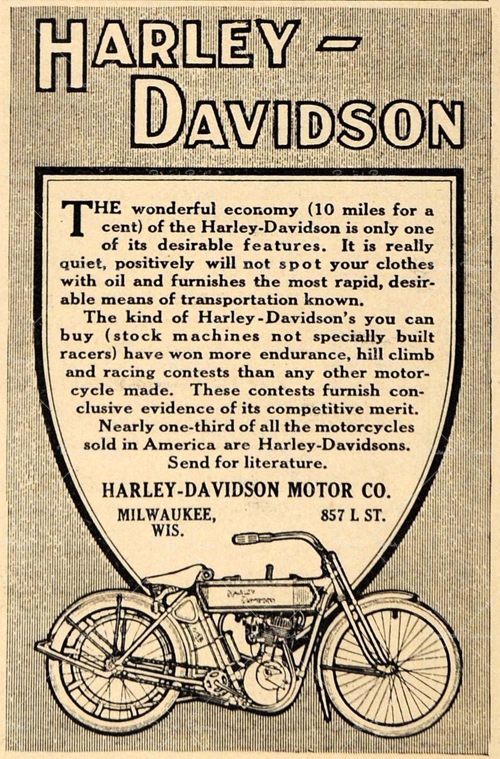 Ropa davidson harley vintage