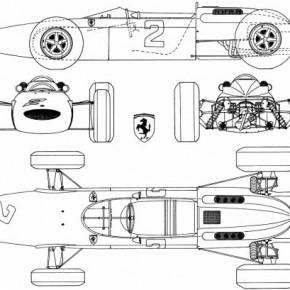 ferrari 158 v8 f1 gp 1964 19079 290x290 - 1964 Ferrari 158