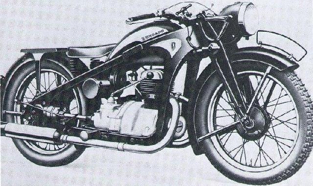 zukk350 Zündapp K800