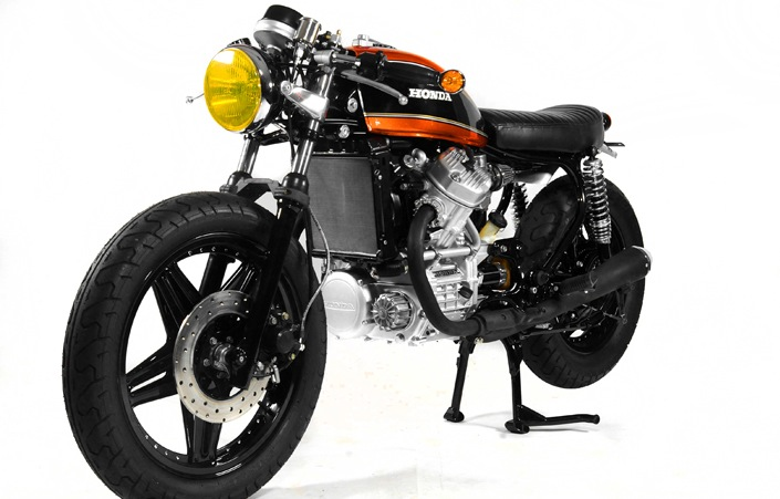 Honda CX500 by Doc's Chops cafe racer