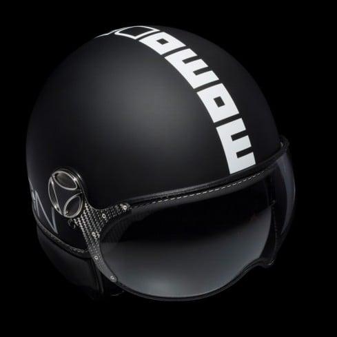 Momo Fighter Helmet Black