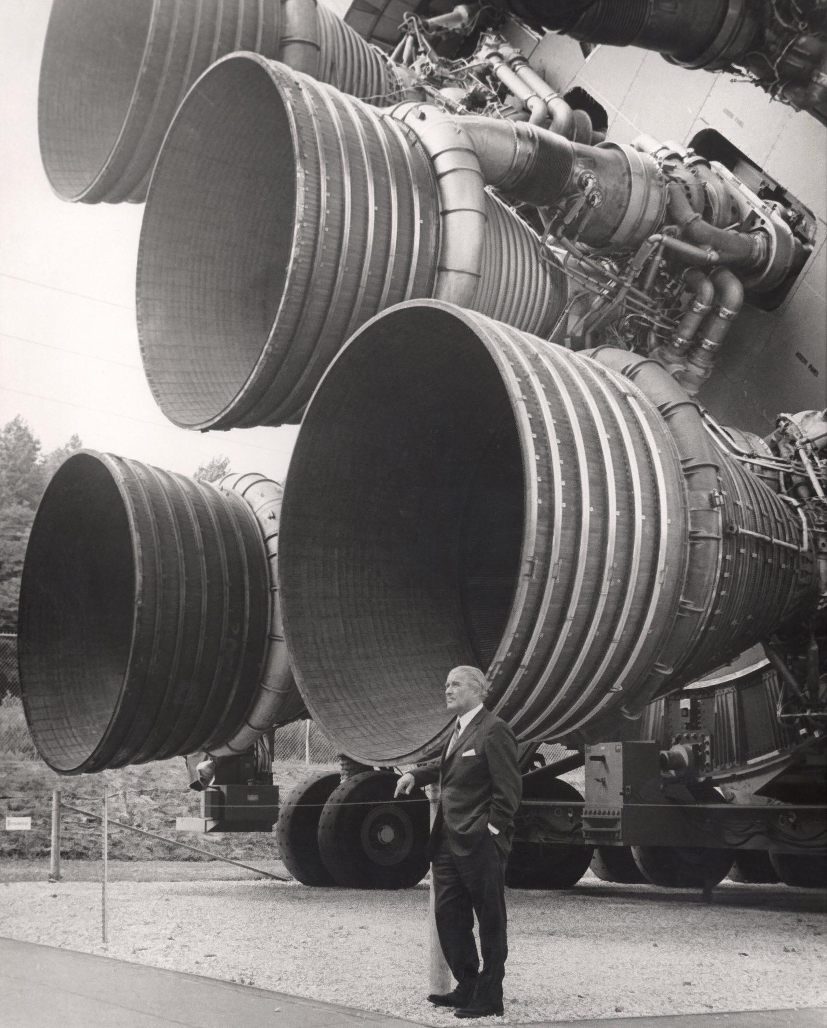 Saturn 5 Engines and Wernher von Braun