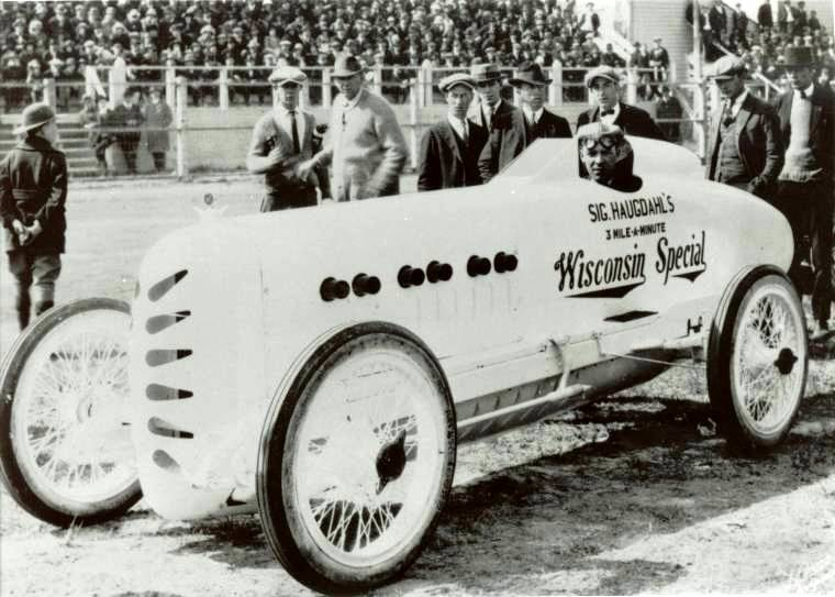 Sig Haugdahl and the Wisconsin Special 2