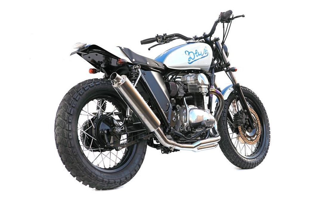 W650 Flat Tracker by Deus Ex Machina 6
