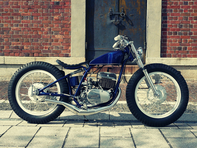 Yamaha DT250 by The Gravel Crew