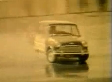 1960s rally drivers Paddy Hopkirk and Timo Makinen 450x330 - Mini Spinner