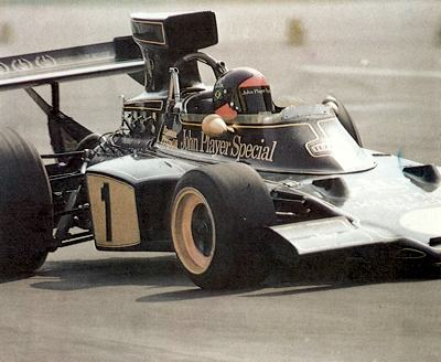 Emerson Fittipaldi Brazilian Grand Prix - 1973 Brazilian Grand Prix