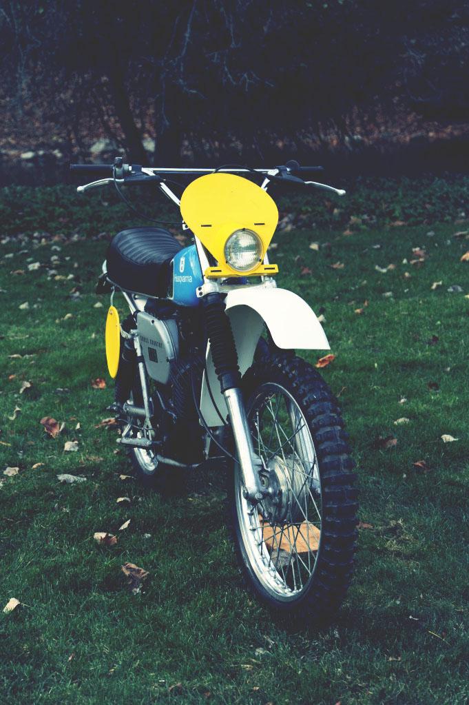 Husqvarna 175 GP Motorbike