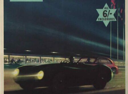 Jaguar Goodwood 1952 450x330 - Jaguar Goodwood Poster - 1952
