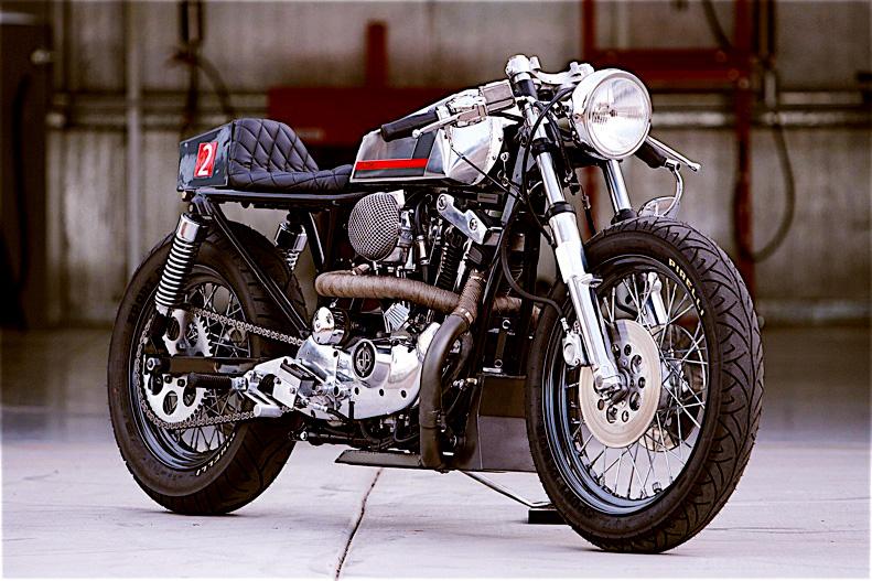 Naked Café Racer Motorcycle DP Customs