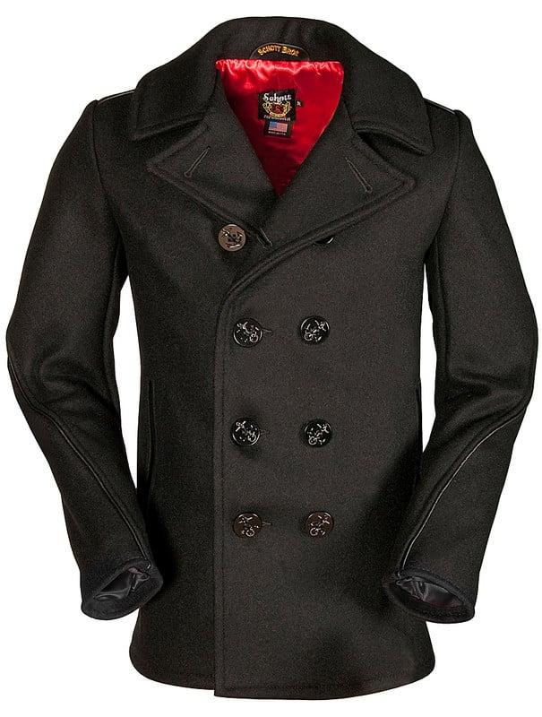 Classic Wool Naval Pea Coat