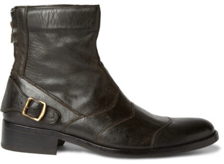 Distressed Leather Boots Belstaff 450x330 - Distressed Leather Boots by Belstaff
