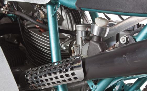Ducati 750 200 Miglia Imola Corsa Engine