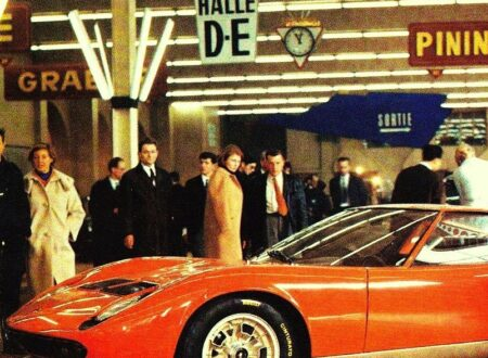 Lamborghini Miura Geneva 450x330 - Lamborghini Miura - Geneva Motor Show - 1966