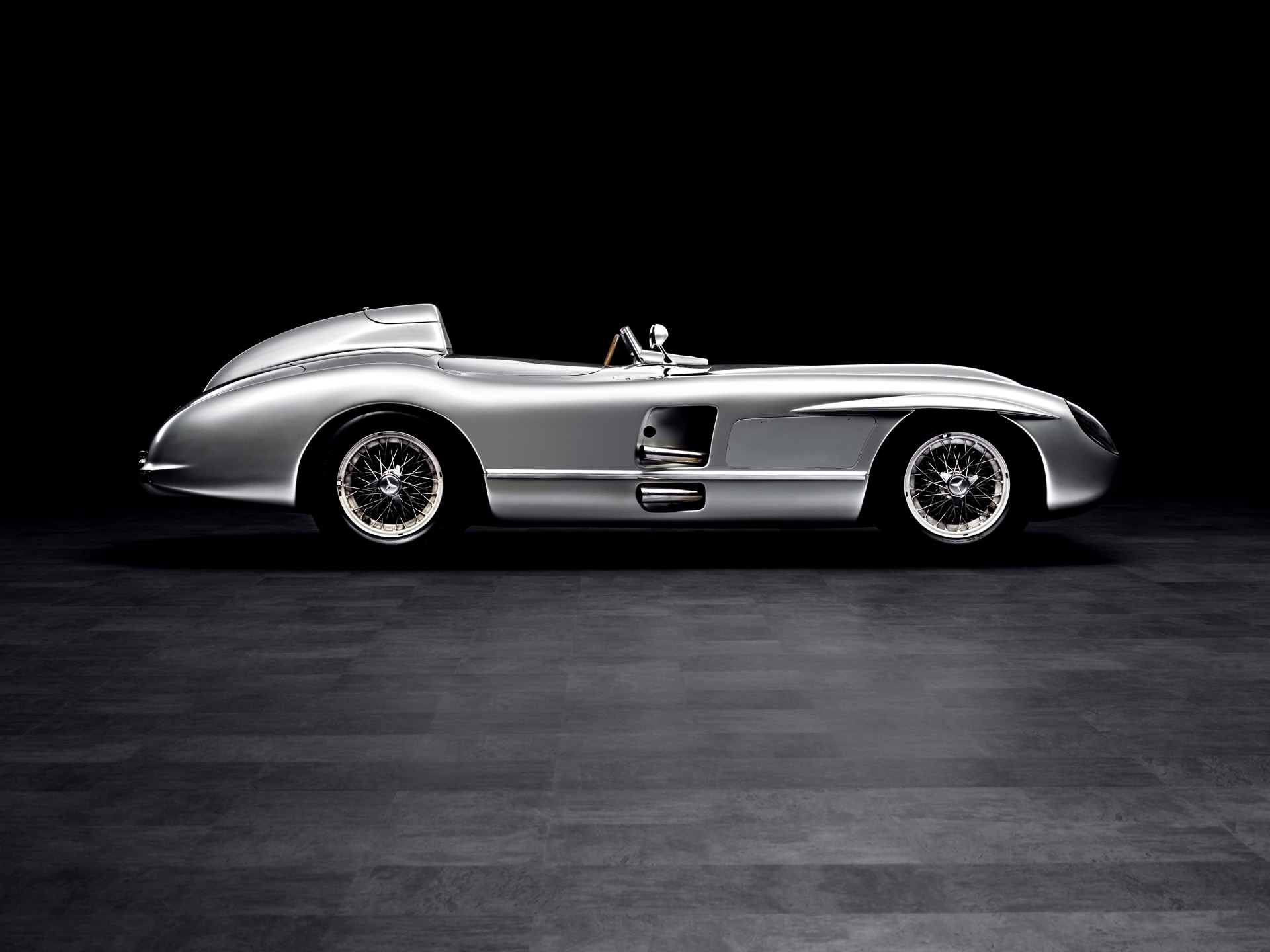 Mercedes benz 300 slr silodrome for 1955 mercedes benz