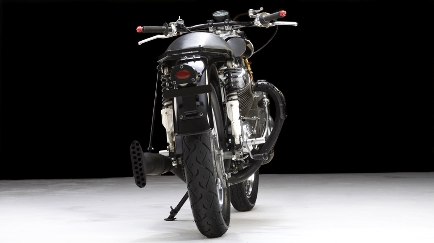 Raven MotoCycles cafe racer