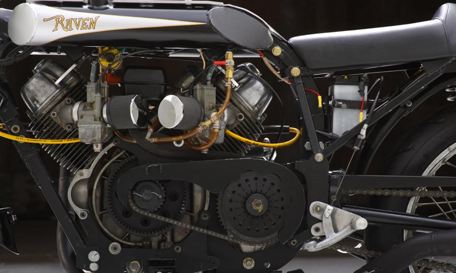 Raven MotoCycles engine