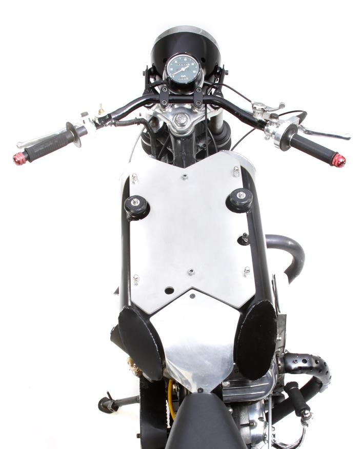 Raven MotoCycles fuel tank