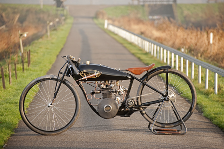 Revatu Pea Shooter Motorcycle