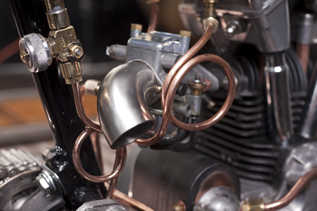 Revatu Pea Shooter engine detail