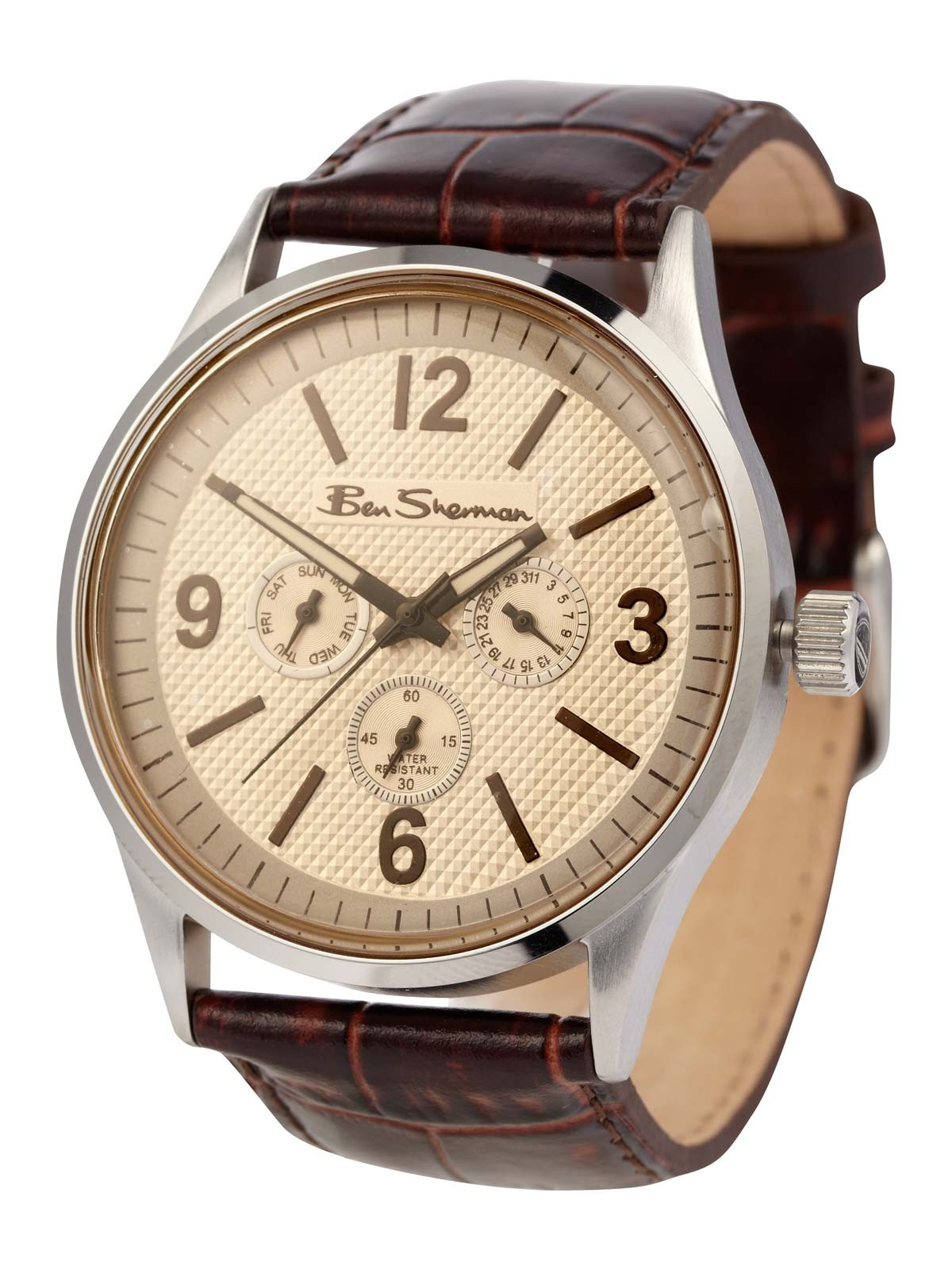 Round Dial Watch by Ben Sherman Ben Sherman Chronograph