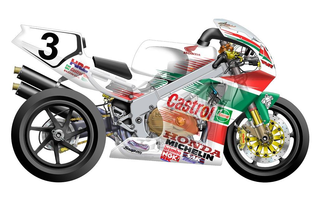 Superbike Cutaways Honda